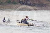 The Boat Race season 2015 - Newton Women's Boat Race. River Thames between Putney and Mortlake, London,  United Kingdom, on 10 April 2015 at 16:04, image #146