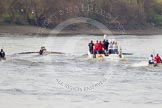 The Boat Race season 2015 - Newton Women's Boat Race. River Thames between Putney and Mortlake, London,  United Kingdom, on 10 April 2015 at 16:04, image #147