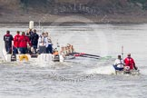 The Boat Race season 2015 - Newton Women's Boat Race. River Thames between Putney and Mortlake, London,  United Kingdom, on 10 April 2015 at 16:04, image #148