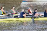 The Boat Race season 2015 - Newton Women's Boat Race. Image #105, 10 April 2015 16:02 River Thames, London, UK