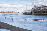 The Boat Race season 2015 - Newton Women's Boat Race. River Thames between Putney and Mortlake, London,  United Kingdom, on 11 April 2015 at 11:59, image #1
