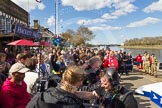 The Boat Race season 2015 - Newton Women's Boat Race. River Thames between Putney and Mortlake, London,  United Kingdom, on 11 April 2015 at 14:50, image #32