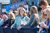 The Boat Race season 2015 - Newton Women's Boat Race. River Thames between Putney and Mortlake, London,  United Kingdom, on 11 April 2015 at 15:35, image #59