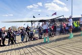 The Boat Race season 2015 - Newton Women's Boat Race. River Thames between Putney and Mortlake, London,  United Kingdom, on 11 April 2015 at 16:02, image #74