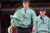The Boat Race season 2016 - Women's Boat Race Trial Eights (CUWBC, Cambridge). River Thames between Putney Bridge and Mortlake, London SW15,  United Kingdom, on 10 December 2015 at 10:08, image #1