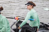 "The Boat Race season 2016 - Women's Boat Race Trial Eights (CUWBC, Cambridge): Thea Zabell, 7 seat in ""Tideway"". River Thames between Putney Bridge and Mortlake, London SW15,  United Kingdom, on 10 December 2015 at 10:19, image #21"