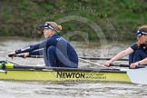 "The Boat Race season 2016 - Women's Boat Race Trial Eights (OUWBC, Oxford): ""Charybdis"", here 6-Elo Luik, 5-Ruth Siddorn. River Thames between Putney Bridge and Mortlake, London SW15,  United Kingdom, on 10 December 2015 at 12:20, image #174"
