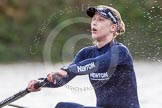 """The Boat Race season 2016 - Women's Boat Race Trial Eights (OUWBC, Oxford): """"Charybdis"""" , here 6-Elo Luik. River Thames between Putney Bridge and Mortlake, London SW15,  United Kingdom, on 10 December 2015 at 12:28, image #242"""