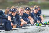 "The Boat Race season 2016 - Women's Boat Race Trial Eights (OUWBC, Oxford): ""Scylla"", cox-Antonia Stutter, stroke-Emma Lukasiewicz, 7-Lauren Kedar, 6-Joanne Jansen, 5-Anastasia Chitty, 4-Rebecca Te Water Naude, 3-Elettra Ardissino, 2-Merel Lefferts, bow-Issy Dodds. River Thames between Putney Bridge and Mortlake, London SW15,  United Kingdom, on 10 December 2015 at 12:36, image #318"