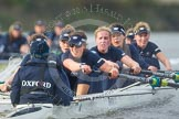 "The Boat Race season 2016 - Women's Boat Race Trial Eights (OUWBC, Oxford): ""Scylla"", cox-Antonia Stutter, stroke-Emma Lukasiewicz, 7-Lauren Kedar, 6-Joanne Jansen, 5-Anastasia Chitty, 4-Rebecca Te Water Naude, 3-Elettra Ardissino, 2-Merel Lefferts, bow-Issy Dodds. River Thames between Putney Bridge and Mortlake, London SW15,  United Kingdom, on 10 December 2015 at 12:37, image #330"