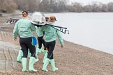The Boat Race season 2016 - Women's Boat Race Fixture CUWBC vs OBUBC. River Thames between Putney Bridge and Mortlake, London SW15,  United Kingdom, on 31 January 2016 at 15:13, image #5
