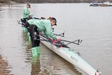 The Boat Race season 2016 - Women's Boat Race Fixture CUWBC vs OBUBC. River Thames between Putney Bridge and Mortlake, London SW15,  United Kingdom, on 31 January 2016 at 15:13, image #10