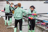 The Boat Race season 2016 - Women's Boat Race Fixture CUWBC vs OBUBC. River Thames between Putney Bridge and Mortlake, London SW15,  United Kingdom, on 31 January 2016 at 15:14, image #11