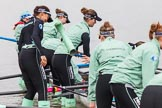 The Boat Race season 2016 - Women's Boat Race Fixture CUWBC vs OBUBC. River Thames between Putney Bridge and Mortlake, London SW15,  United Kingdom, on 31 January 2016 at 15:14, image #12