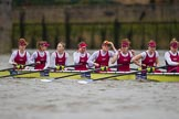 The Boat Race season 2016 - Women's Boat Race Fixture CUWBC vs OBUBC. River Thames between Putney Bridge and Mortlake, London SW15,  United Kingdom, on 31 January 2016 at 15:55, image #49