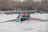 The Boat Race season 2016 - Women's Boat Race Fixture CUWBC vs OBUBC. River Thames between Putney Bridge and Mortlake, London SW15,  United Kingdom, on 31 January 2016 at 15:59, image #51