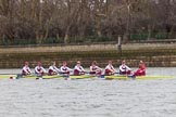 The Boat Race season 2016 - Women's Boat Race Fixture CUWBC vs OBUBC. River Thames between Putney Bridge and Mortlake, London SW15,  United Kingdom, on 31 January 2016 at 15:59, image #52