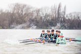 The Boat Race season 2016 - Women's Boat Race Fixture CUWBC vs OBUBC. River Thames between Putney Bridge and Mortlake, London SW15,  United Kingdom, on 31 January 2016 at 15:59, image #55