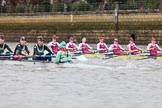 The Boat Race season 2016 - Women's Boat Race Fixture CUWBC vs OBUBC. River Thames between Putney Bridge and Mortlake, London SW15,  United Kingdom, on 31 January 2016 at 16:00, image #58