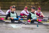 The Boat Race season 2016 - Women's Boat Race Fixture CUWBC vs OBUBC. River Thames between Putney Bridge and Mortlake, London SW15,  United Kingdom, on 31 January 2016 at 16:00, image #61