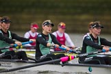 The Boat Race season 2016 - Women's Boat Race Fixture CUWBC vs OBUBC. River Thames between Putney Bridge and Mortlake, London SW15,  United Kingdom, on 31 January 2016 at 16:00, image #62