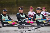 The Boat Race season 2016 - Women's Boat Race Fixture CUWBC vs OBUBC. River Thames between Putney Bridge and Mortlake, London SW15,  United Kingdom, on 31 January 2016 at 16:01, image #65