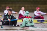 The Boat Race season 2016 - Women's Boat Race Fixture CUWBC vs OBUBC. River Thames between Putney Bridge and Mortlake, London SW15,  United Kingdom, on 31 January 2016 at 16:01, image #66