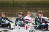 The Boat Race season 2016 - Women's Boat Race Fixture CUWBC vs OBUBC. River Thames between Putney Bridge and Mortlake, London SW15,  United Kingdom, on 31 January 2016 at 16:01, image #68