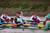 The Boat Race season 2016 - Women's Boat Race Fixture CUWBC vs OBUBC. River Thames between Putney Bridge and Mortlake, London SW15,  United Kingdom, on 31 January 2016 at 16:02, image #71