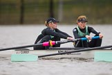 The Boat Race season 2016 - Women's Boat Race Fixture CUWBC vs OBUBC. River Thames between Putney Bridge and Mortlake, London SW15,  United Kingdom, on 31 January 2016 at 16:02, image #73