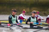 The Boat Race season 2016 - Women's Boat Race Fixture CUWBC vs OBUBC. River Thames between Putney Bridge and Mortlake, London SW15,  United Kingdom, on 31 January 2016 at 16:02, image #75