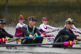 The Boat Race season 2016 - Women's Boat Race Fixture CUWBC vs OBUBC. River Thames between Putney Bridge and Mortlake, London SW15,  United Kingdom, on 31 January 2016 at 16:02, image #76