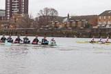 The Boat Race season 2016 - Women's Boat Race Fixture CUWBC vs OBUBC. River Thames between Putney Bridge and Mortlake, London SW15,  United Kingdom, on 31 January 2016 at 16:03, image #80
