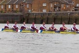 The Boat Race season 2016 - Women's Boat Race Fixture CUWBC vs OBUBC. River Thames between Putney Bridge and Mortlake, London SW15,  United Kingdom, on 31 January 2016 at 16:04, image #81