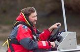The Boat Race season 2016 - Women's Boat Race Fixture CUWBC vs OBUBC. River Thames between Putney Bridge and Mortlake, London SW15,  United Kingdom, on 31 January 2016 at 16:04, image #83