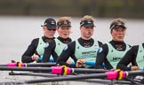 The Boat Race season 2016 - Women's Boat Race Fixture CUWBC vs OBUBC. River Thames between Putney Bridge and Mortlake, London SW15,  United Kingdom, on 31 January 2016 at 16:04, image #85