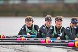 The Boat Race season 2016 - Women's Boat Race Fixture CUWBC vs OBUBC. River Thames between Putney Bridge and Mortlake, London SW15,  United Kingdom, on 31 January 2016 at 16:04, image #86