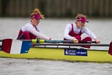 The Boat Race season 2016 - Women's Boat Race Fixture CUWBC vs OBUBC. River Thames between Putney Bridge and Mortlake, London SW15,  United Kingdom, on 31 January 2016 at 16:05, image #89
