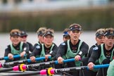The Boat Race season 2016 - Women's Boat Race Fixture CUWBC vs OBUBC. River Thames between Putney Bridge and Mortlake, London SW15,  United Kingdom, on 31 January 2016 at 16:05, image #95
