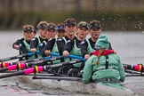 The Boat Race season 2016 - Women's Boat Race Fixture CUWBC vs OBUBC. River Thames between Putney Bridge and Mortlake, London SW15,  United Kingdom, on 31 January 2016 at 16:06, image #97