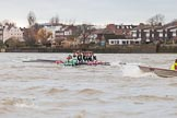 The Boat Race season 2016 - Women's Boat Race Fixture CUWBC vs OBUBC. River Thames between Putney Bridge and Mortlake, London SW15,  United Kingdom, on 31 January 2016 at 16:14, image #108