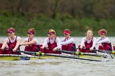 The Boat Race season 2016 - Women's Boat Race Fixture CUWBC vs OBUBC. River Thames between Putney Bridge and Mortlake, London SW15,  United Kingdom, on 31 January 2016 at 16:16, image #110
