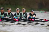 The Boat Race season 2016 - Women's Boat Race Fixture CUWBC vs OBUBC. River Thames between Putney Bridge and Mortlake, London SW15,  United Kingdom, on 31 January 2016 at 16:18, image #111