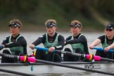 The Boat Race season 2016 - Women's Boat Race Fixture CUWBC vs OBUBC. River Thames between Putney Bridge and Mortlake, London SW15,  United Kingdom, on 31 January 2016 at 16:19, image #113