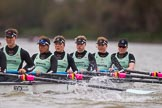 The Boat Race season 2016 - Women's Boat Race Fixture CUWBC vs OBUBC. River Thames between Putney Bridge and Mortlake, London SW15,  United Kingdom, on 31 January 2016 at 16:19, image #117