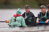 The Boat Race season 2016 - Women's Boat Race Fixture CUWBC vs OBUBC. River Thames between Putney Bridge and Mortlake, London SW15,  United Kingdom, on 31 January 2016 at 16:21, image #127