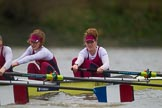 The Boat Race season 2016 - Women's Boat Race Fixture CUWBC vs OBUBC. River Thames between Putney Bridge and Mortlake, London SW15,  United Kingdom, on 31 January 2016 at 16:21, image #129