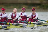 The Boat Race season 2016 - Women's Boat Race Fixture CUWBC vs OBUBC. River Thames between Putney Bridge and Mortlake, London SW15,  United Kingdom, on 31 January 2016 at 16:22, image #133