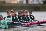 The Boat Race season 2016 - Women's Boat Race Fixture CUWBC vs OBUBC. River Thames between Putney Bridge and Mortlake, London SW15,  United Kingdom, on 31 January 2016 at 16:22, image #134