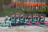 The Boat Race season 2016 - Women's Boat Race Fixture CUWBC vs OBUBC. River Thames between Putney Bridge and Mortlake, London SW15,  United Kingdom, on 31 January 2016 at 16:26, image #143